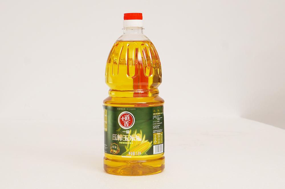 七道香一级压榨玉米油 1.8L