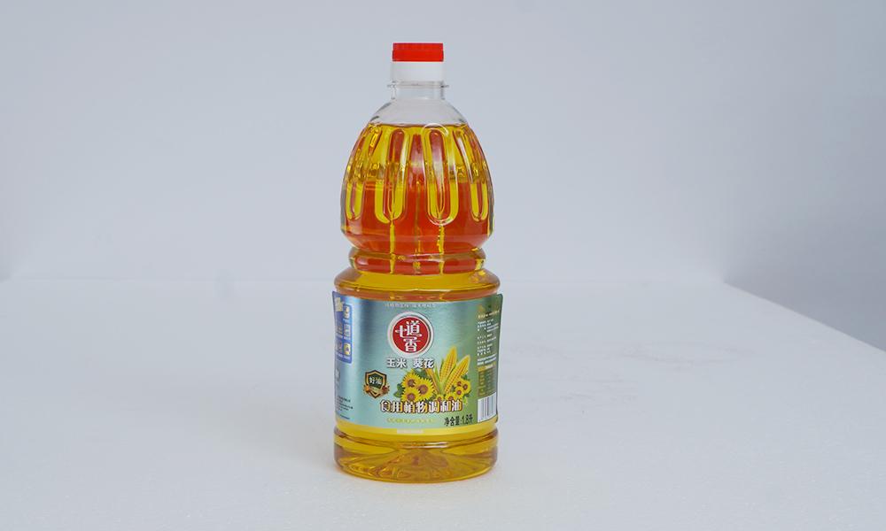 七道香玉米葵花食用植物调和油 1.8L